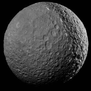 2017.03.15:土星の衛星ミマスとの最後の別れ【最高高解像度画像】