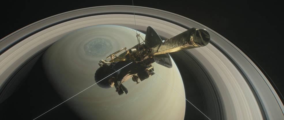 2017.04.05:土星探査機カッシーニの「最後の旅路」が始まる