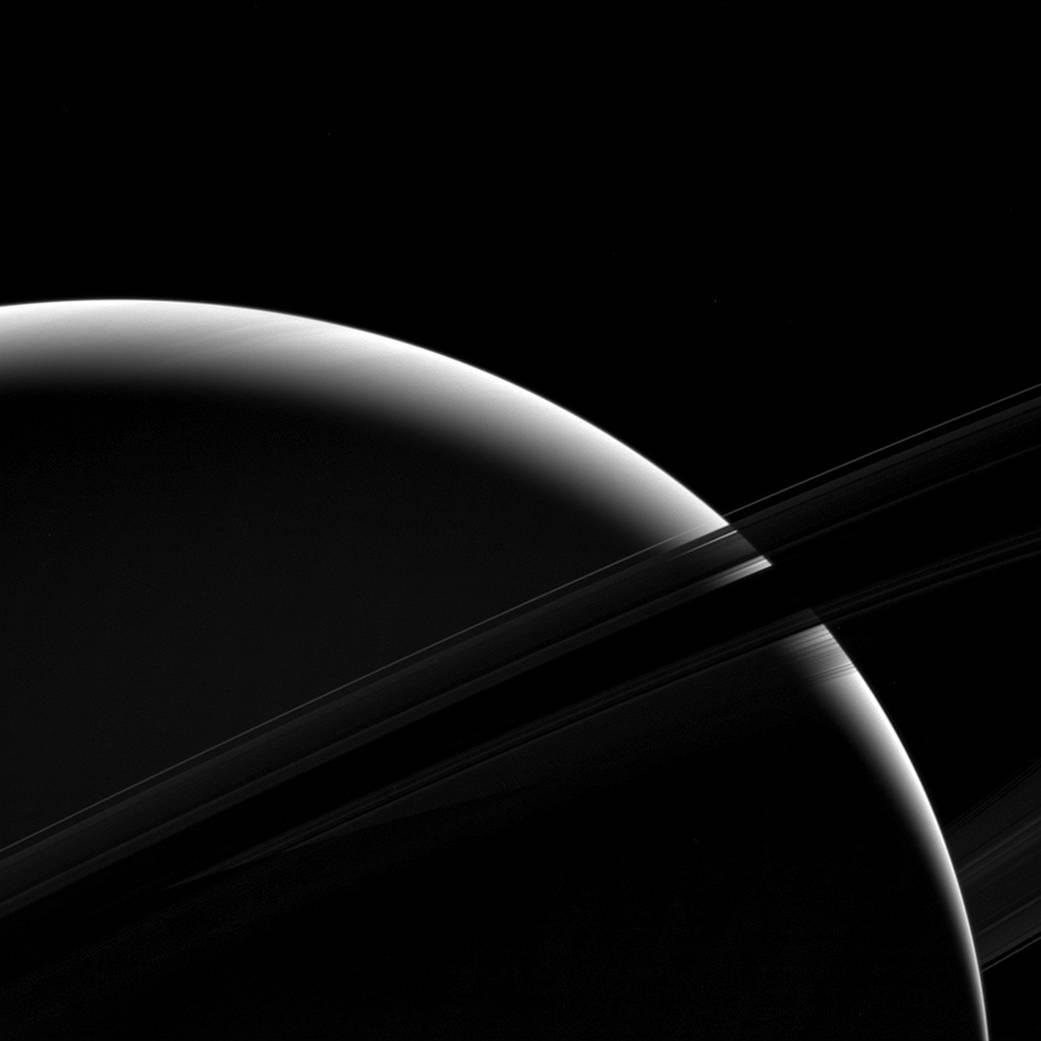 2017.04.04:土星と土星の環の威容