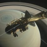 NASA's Cassini spacecraft rushes into Saturn! Spectacular and beautiful video